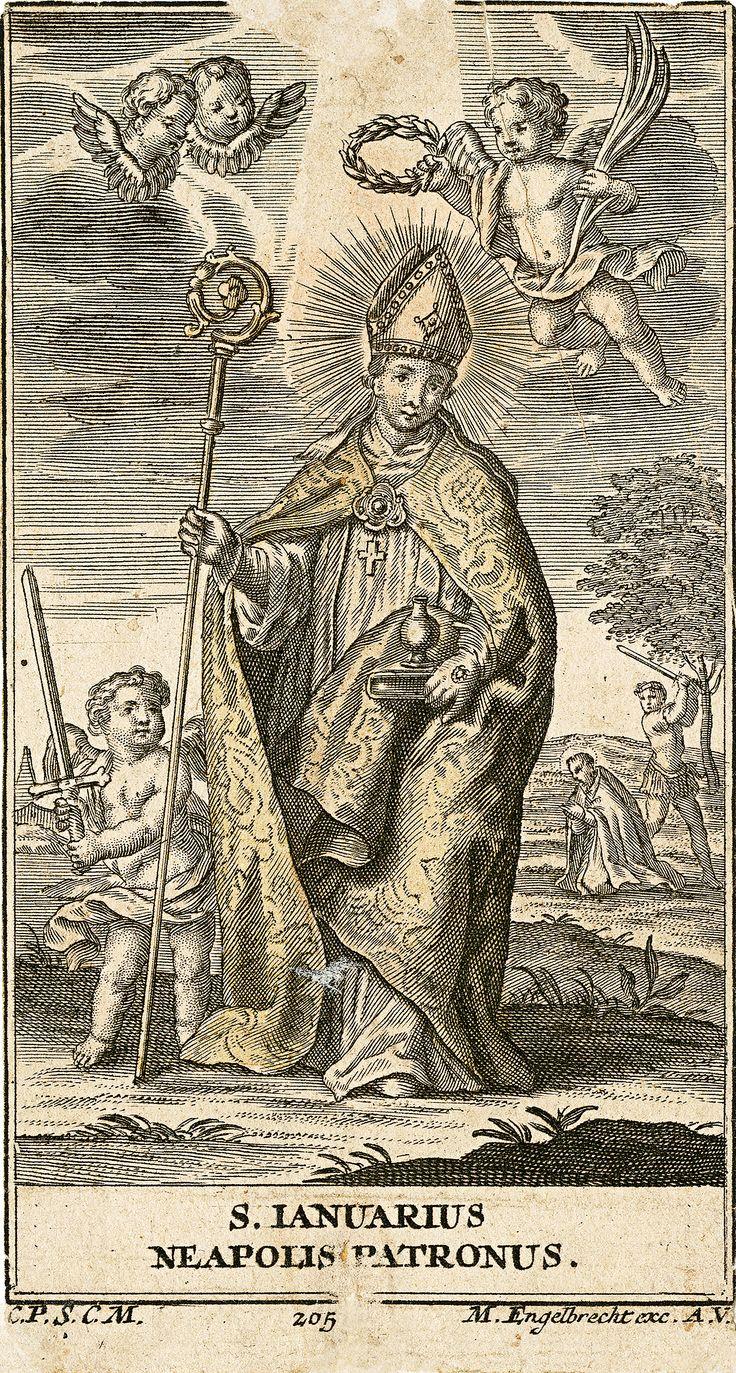 Martin Engelbrecht: Svatý Januarius (San Gennaro)