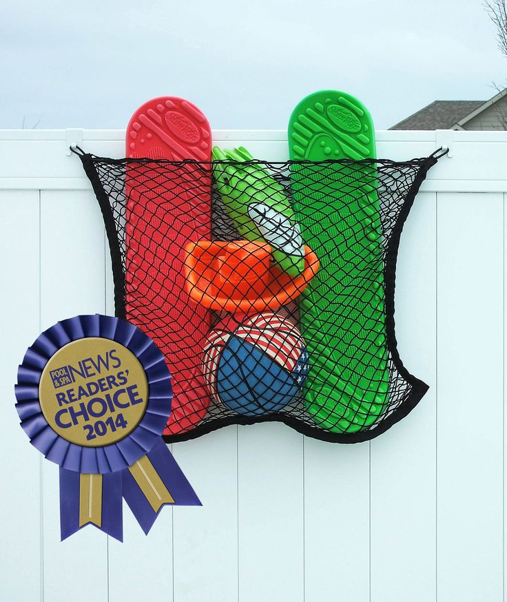 MIDE Productsu0027 New Pool Toy Storage Nets Have Been Voted One Of The Top 50