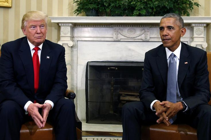 Trump applied for a difficult job he knew very little about.  U.S. President Barack Obama meets with President-elect Donald Trump to discuss transition plans in the White House Oval Office in Washington, Nov. 10, 2016. (Photo by Kevin Lamarque/Reuters)