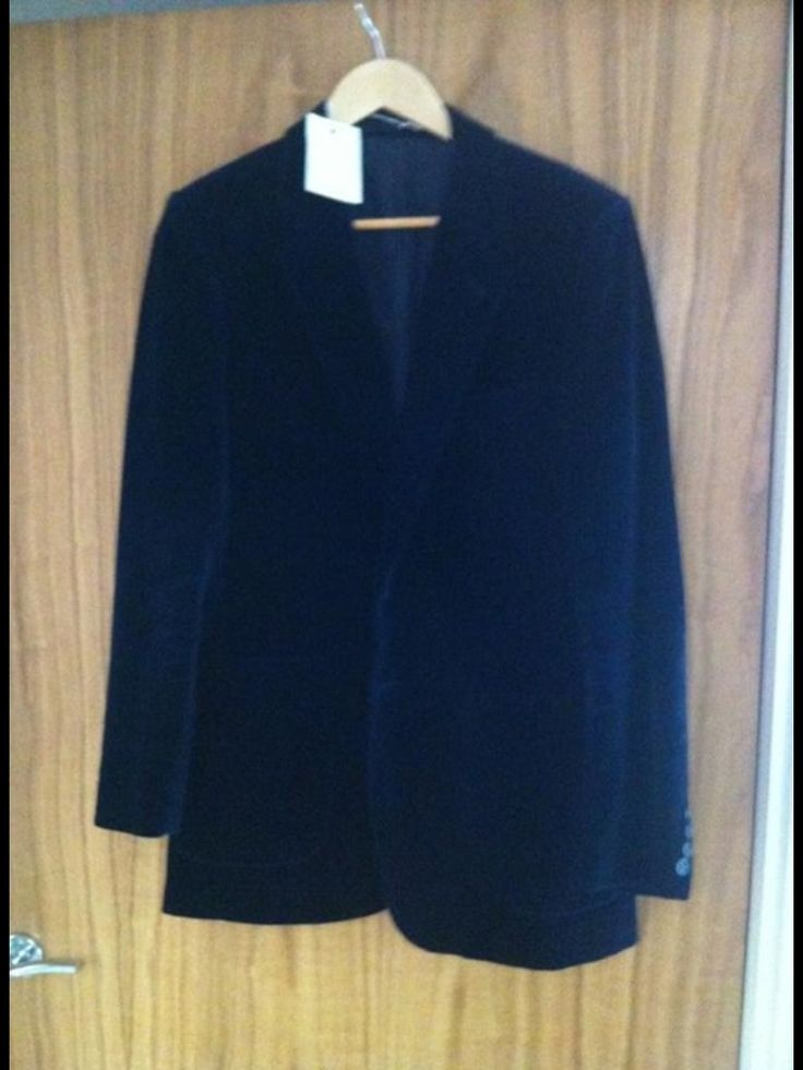 Bargain 70's velvet St Michael jacket £3.50 from Scope charity shop.