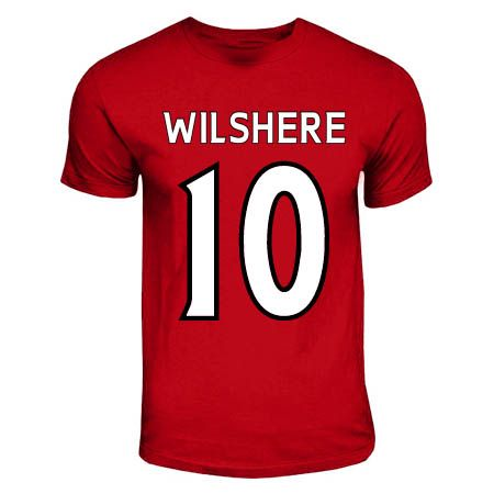 Jack Wilshere Arsenal Hero T-shirt (red) #Sport #Football #Rugby #IceHockey