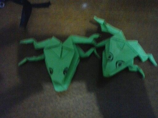 Frogs origami male female