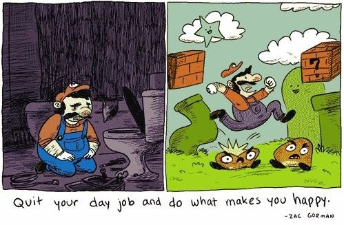 Career advice from Mario!Dreams Man, Comics Book, Animal Humor, Funny Pictures, Videos Games, Super Mario Brother, Funny Quotes, Super Mario Bros, Career Advice