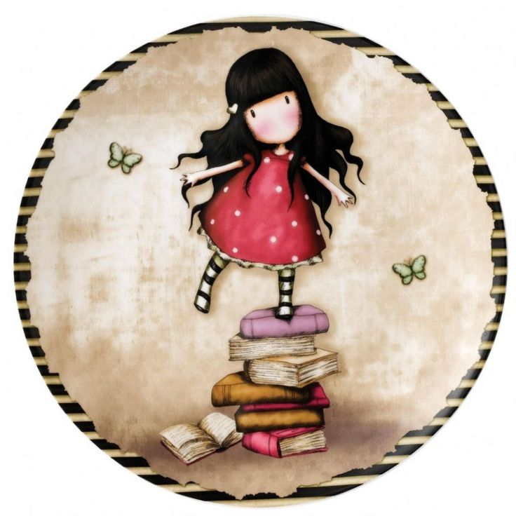 Gorjuss New Heights Wall Plate.  Start someones collection today with this beautiful Gorjuss keepsake wall plate.  Fast Uk delivery. New product 2014