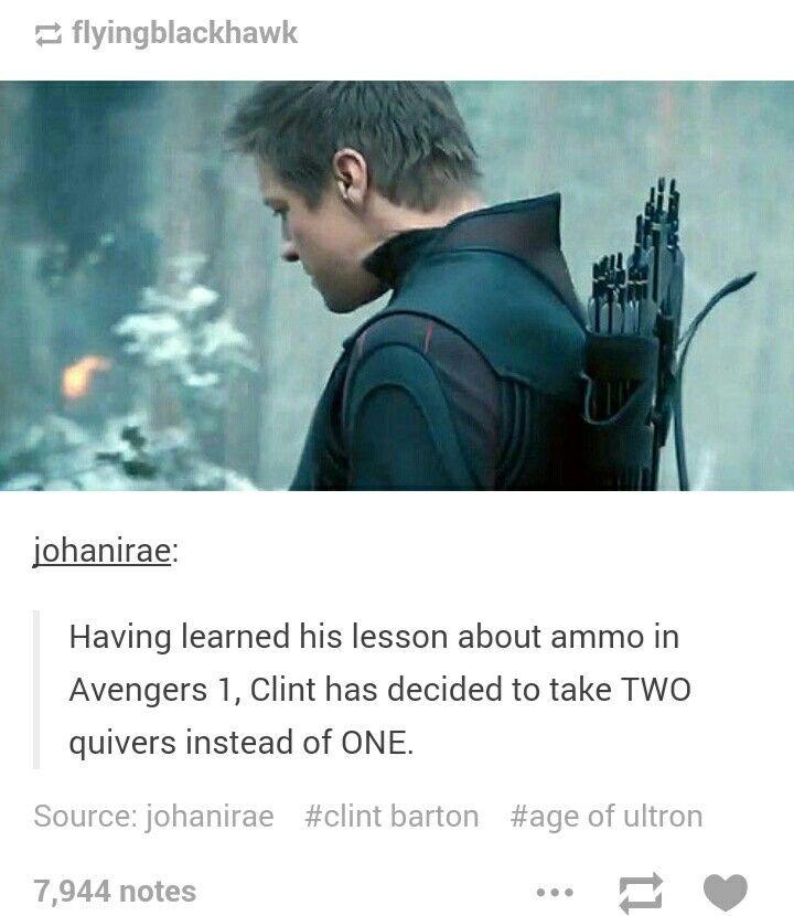 Good job, Clint.