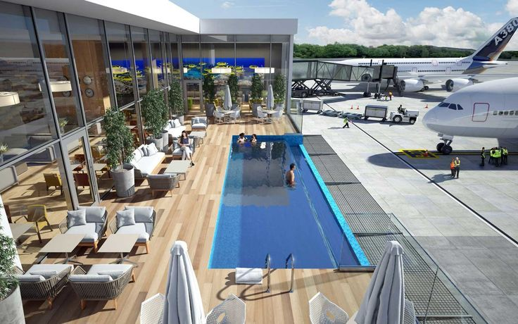 This Airport Is Getting an Outdoor Swimming Pool | Pack a swimsuit in your carry-on.