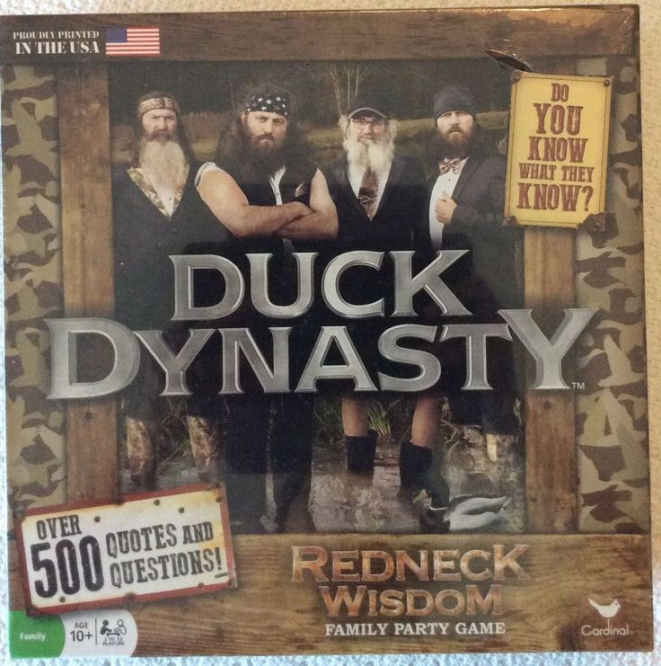Duck Dynasty Redneck Wisdom Family Party Board Game New! #CardinalIndustries