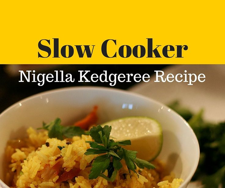 The 25 best kedgeree recipes ideas on pinterest for Fish slow cooker recipes