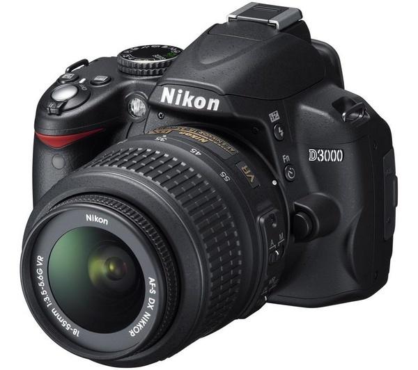 Nikon D3000 Af S Dx Vr Nikkor 18 55 Mm Zoom Lens