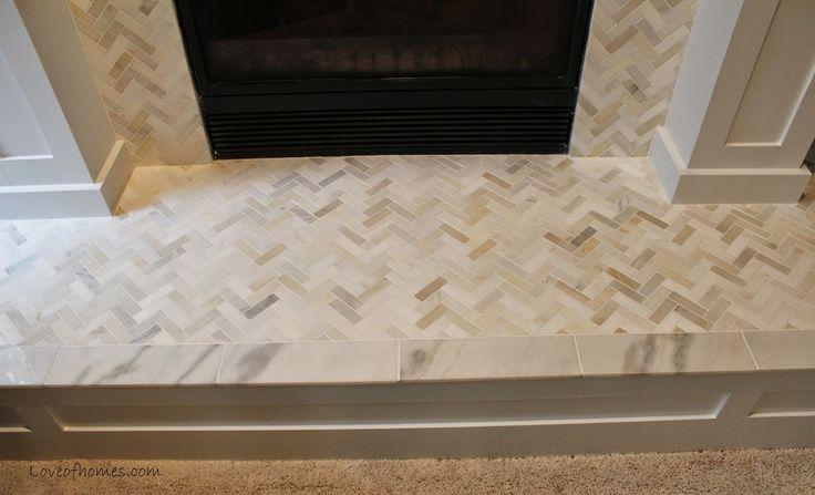Herringbone mosaic tile - Allen + Roth from Lowe's