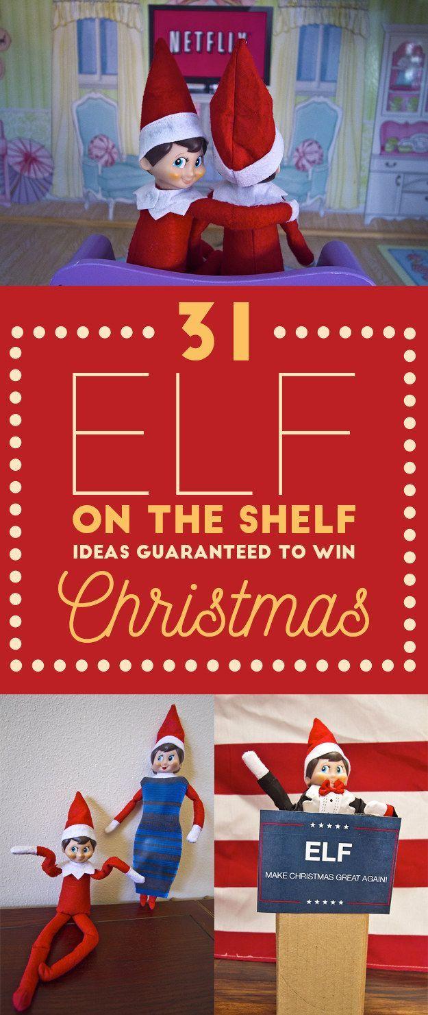 31 Elf On The Shelf Ideas Guaranteed To Win Christmas