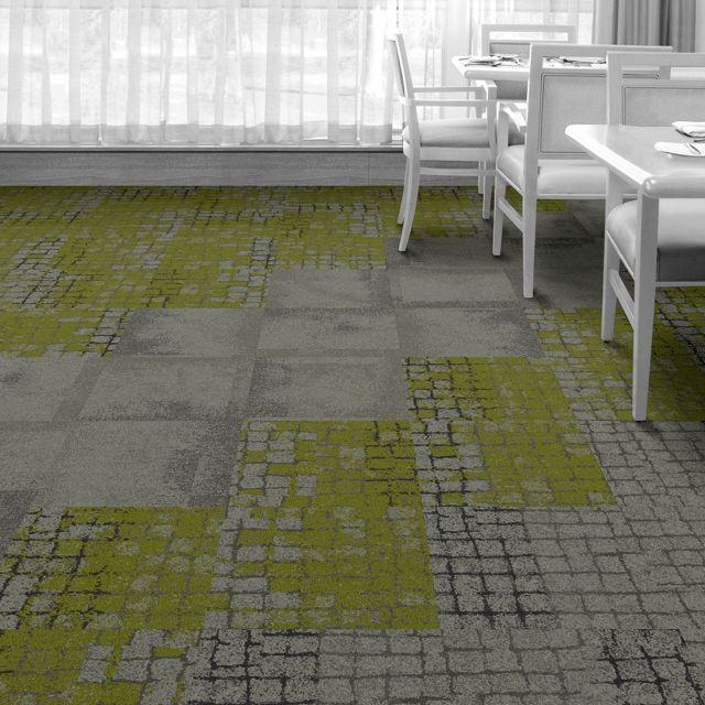 Interface Floor Design Moss Slate Moss Flagstone Slate Sett