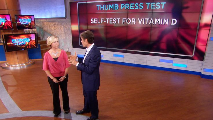4 Easy Self-Tests for Vitamin Deficiencies: Feeling worn down and fatigued? You could be experiencing a vitamin deficiency. In this 5 minute video, Dr. Oz demonstrates four simple self-tests to determine if your body is lacking vitamins A, B6, B12 and D.