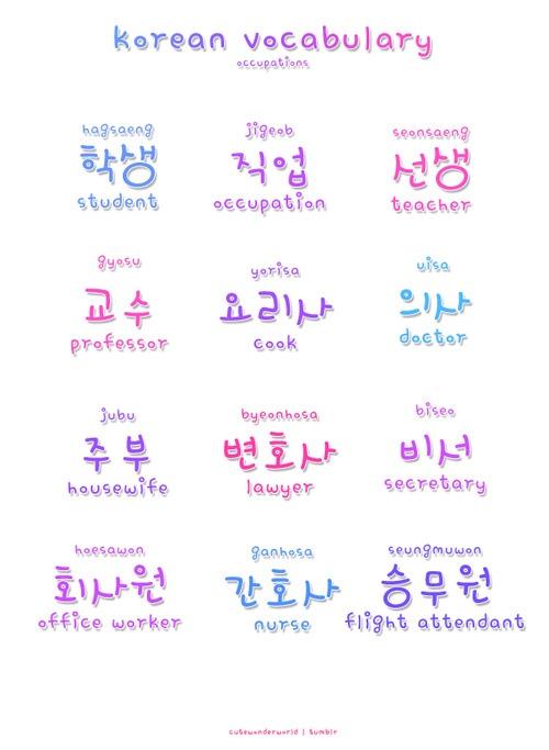 learn to write korean