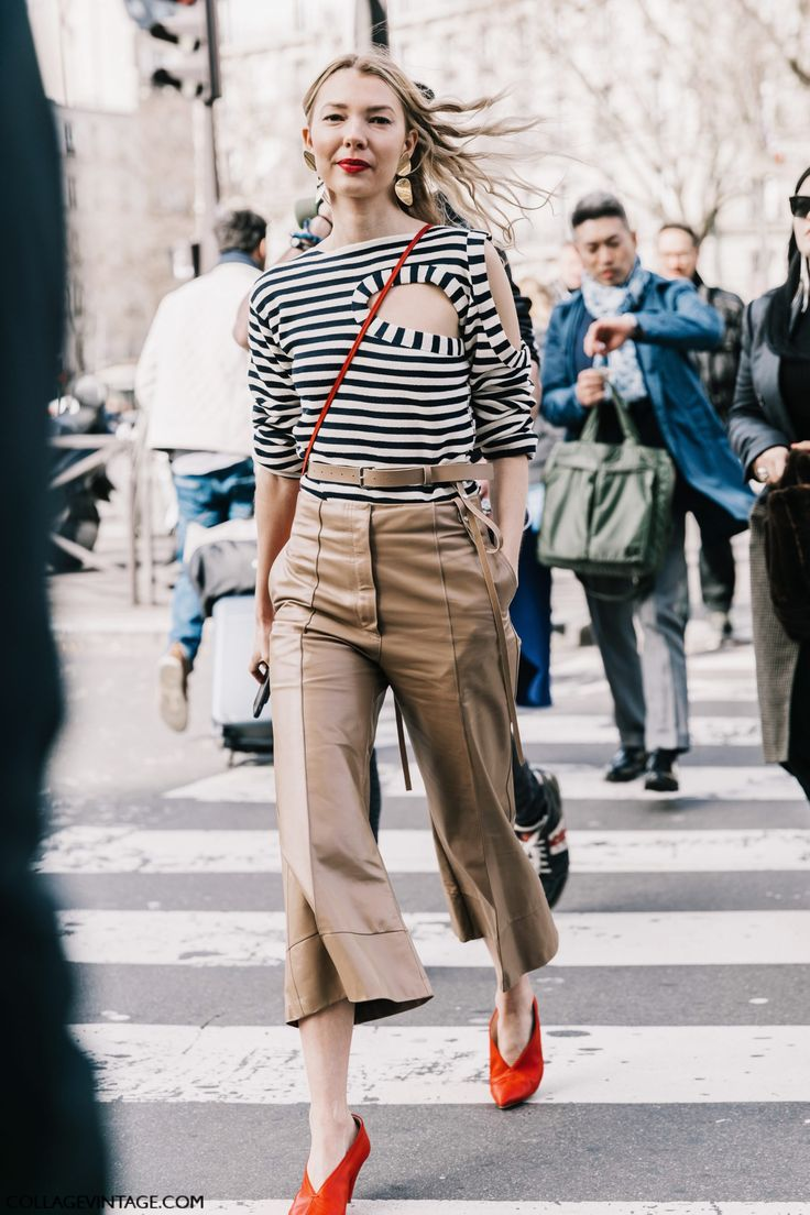 PFW Street Style I | Collage Vintage