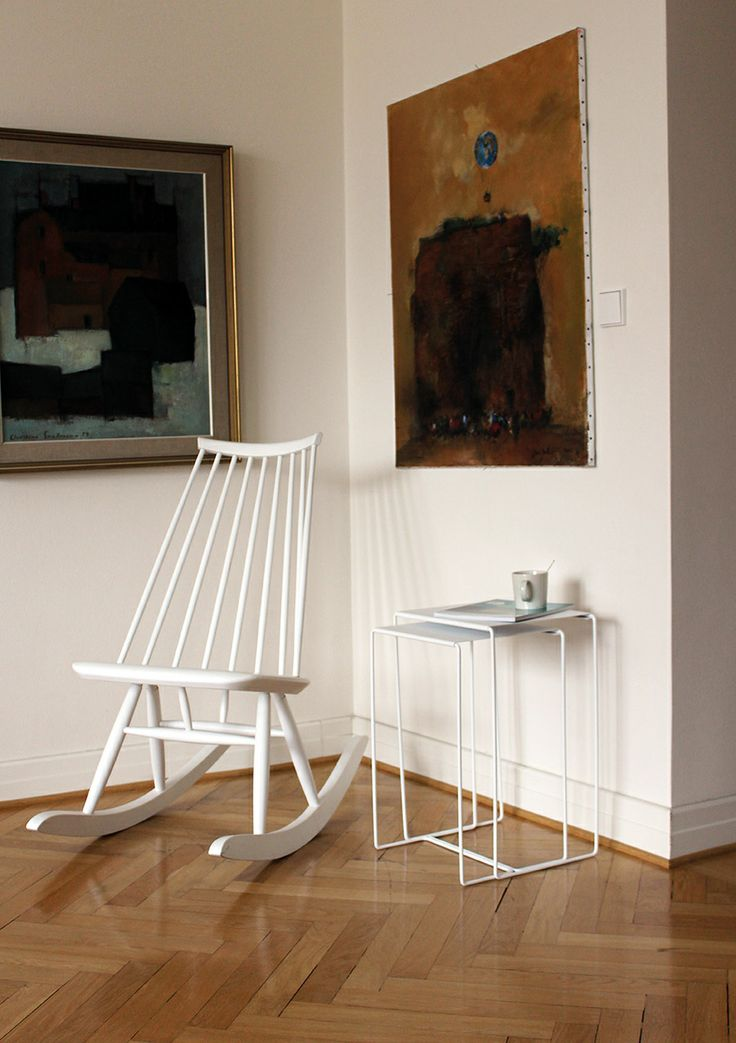 Porvoo nesting table. Design by Helena Mattila. Made in Finland.