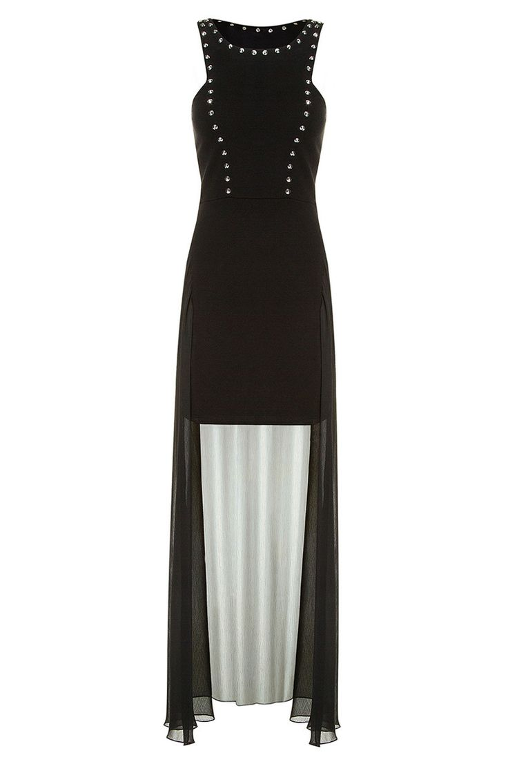 #black maxi #dress #TALLYWEiJL #musthave http://www.tally-weijl.net/p/dresses-jumpsuits/schwarzes-asymmetrisches-kleid/ndr2986you-blk001?categoryId=21569