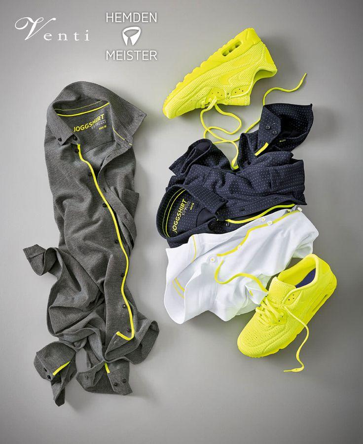 Ein Wochenende kann auch Sportlich sein. Hier eine Auswahl von Hemden Meister #sport #hemdenmeister #venti #hemden #hemd #jogging #fitness
