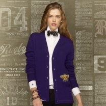 Ralph Lauren Make Your Own Cardigan. Choose from a variety of varsity letterman patches, icons and embroidery. Patch pockets, elbow patches and contrasting stripes.