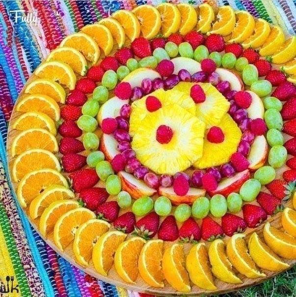 Originales formas de cortar y servir fruta para una fiesta o buffet | MINISTERIO INFANTIL ARCOIRIS