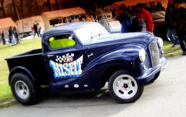 morris minor gasser | moggy minor pickup gasser | Retro Rides