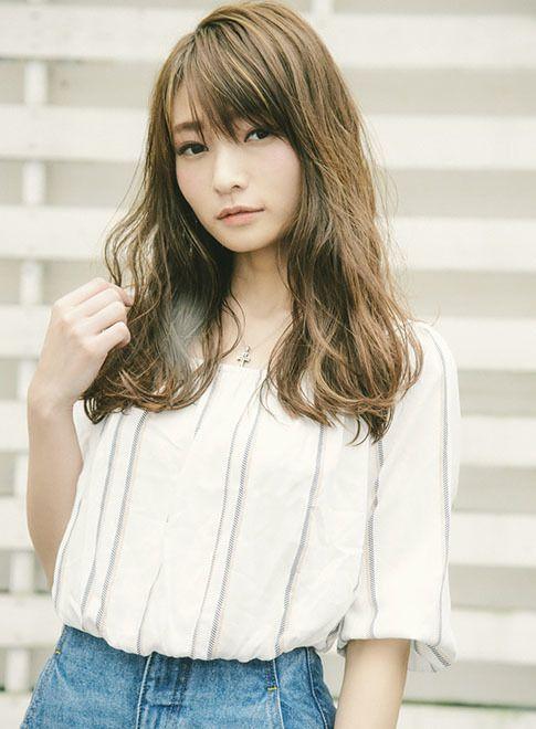 ブレンドハイライト ワンレンロング 【MINX harajuku】 http://beautynavi.woman.excite.co.jp/salon/3381?pint ≪ #longhair #longstyle #longhairstyle #hairstyle ・ロング・ヘアスタイル・髪型・髪形≫