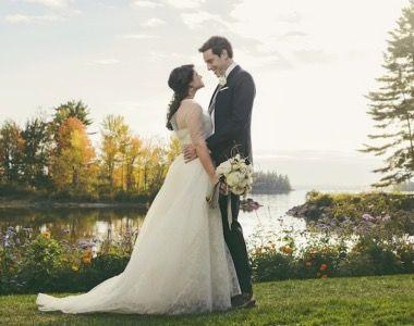 Migis Lodge Unique Lakeside Destination Weddings At On Sebago Lake Deb Says Its