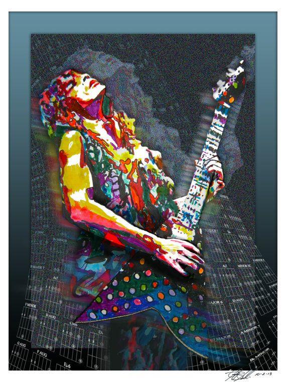 Randy+Rhoads+Ozzy+Osbourne++Lead+Guitar+Player++by+thesent+on+Etsy,+$14.99