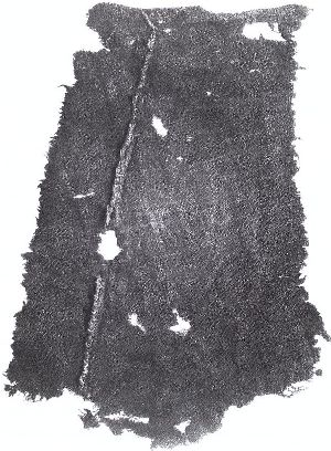 Find from Haithabu, used as documentation for the raised ridge used on some apron dresses.