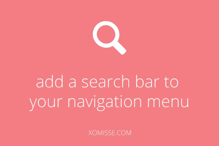 How to include a search bar in your navigation bar or menu on blogger allowing users to search for content on your blog or website.