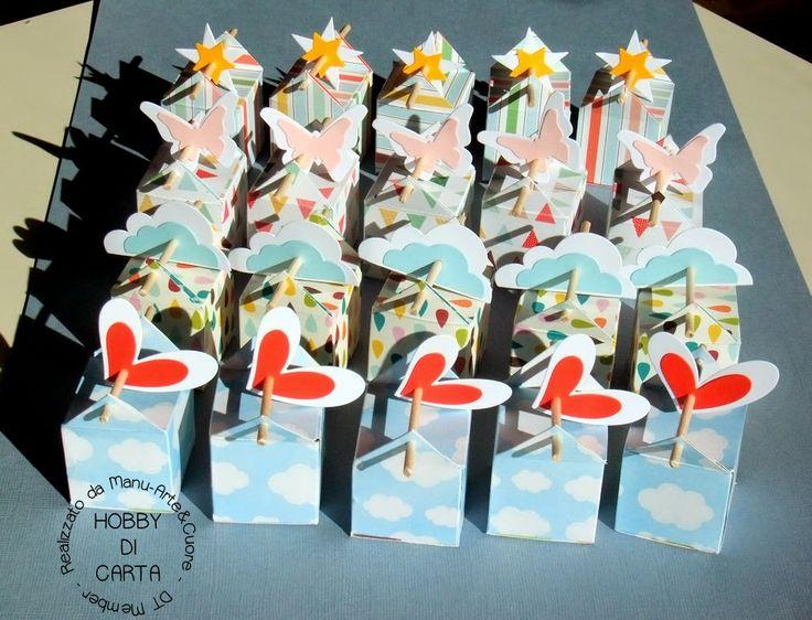Hobby di Carta - Il blog: SCATOLINA PORTA BACIO