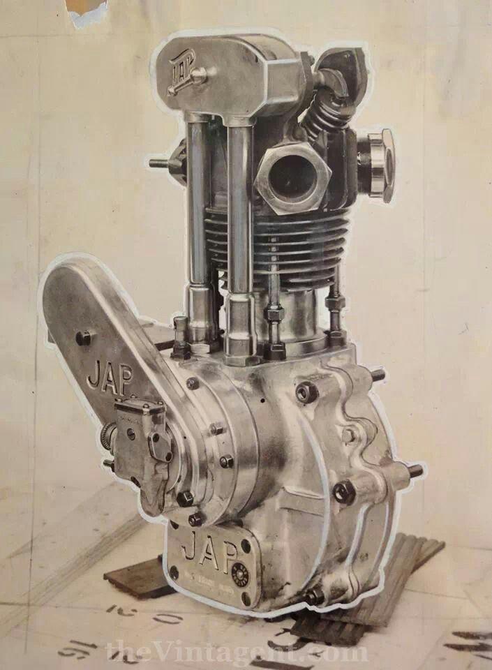 1930s JAP 250cc? racing engine