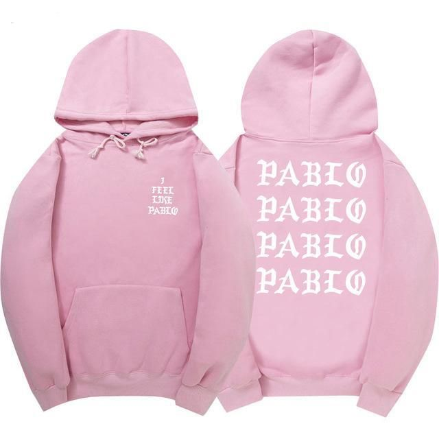 New Brand Hoodie I Feel Like Paul Hoodies Sweatshirt Men Women Kanye West Fear Of God Long Sleeve Hip Hop Anti Social Club Hoody