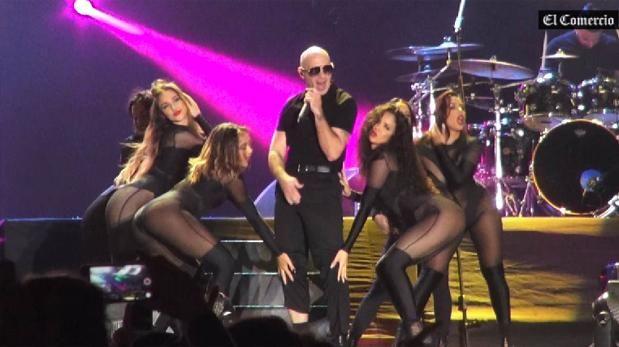 Enrique Iglesias y Pitbull demostraron el poder de los latinos | Musica | Luces | El Comercio Peru