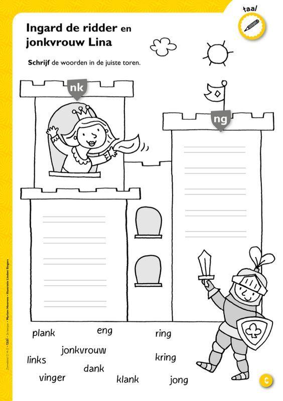 25 beste idee n over 2de leerjaar lezen op pinterest 2de leerjaar spelling en groep vier - Werkblad eindigen ...