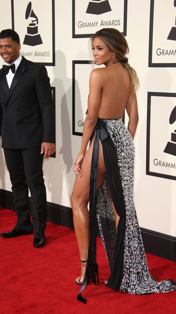 Russell Wilson and Ciara - Girl, please show a little bit of self respect!