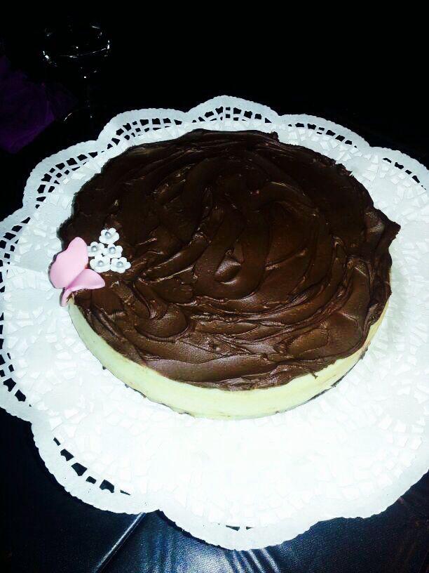 Cheesecake de baileys con choco☺️