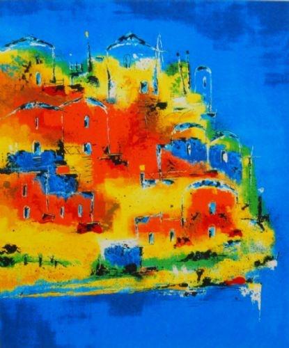 Henk Kuijpers - schilderij