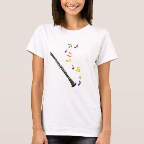 Clarinets Make Beautiful Music T-Shirt click/tep for yours!