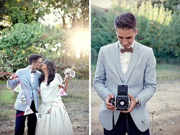 Relativ Les 25 meilleures idées de la catégorie Costume gris marié sur  DI21