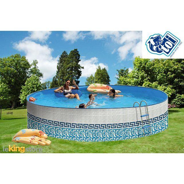 10 id es propos de piscine acier sur pinterest corten cours de l acier et pergola acier - Piscine ronde acier poitiers ...