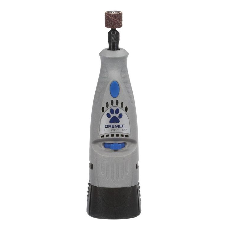Quiet and lightweight with a rechargeable battery, this pet nail trimmer cuts down the time and expense of taking your animal to the groomer.