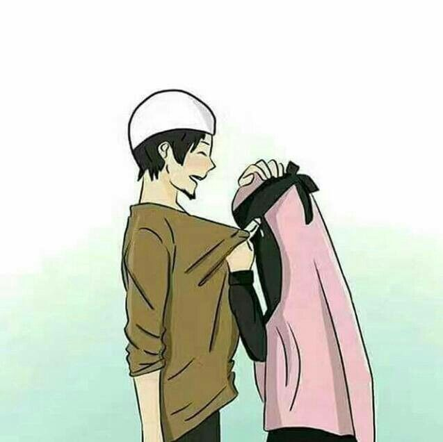 So Halal Nd Romantic Cute Muslim Couples Anime Muslim Islamic Cartoon