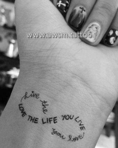 Tatouage poignet 2 prenoms recherche google tatoo pinterest tatouage poignet poignet et - Tatouage infini prenom poignet ...