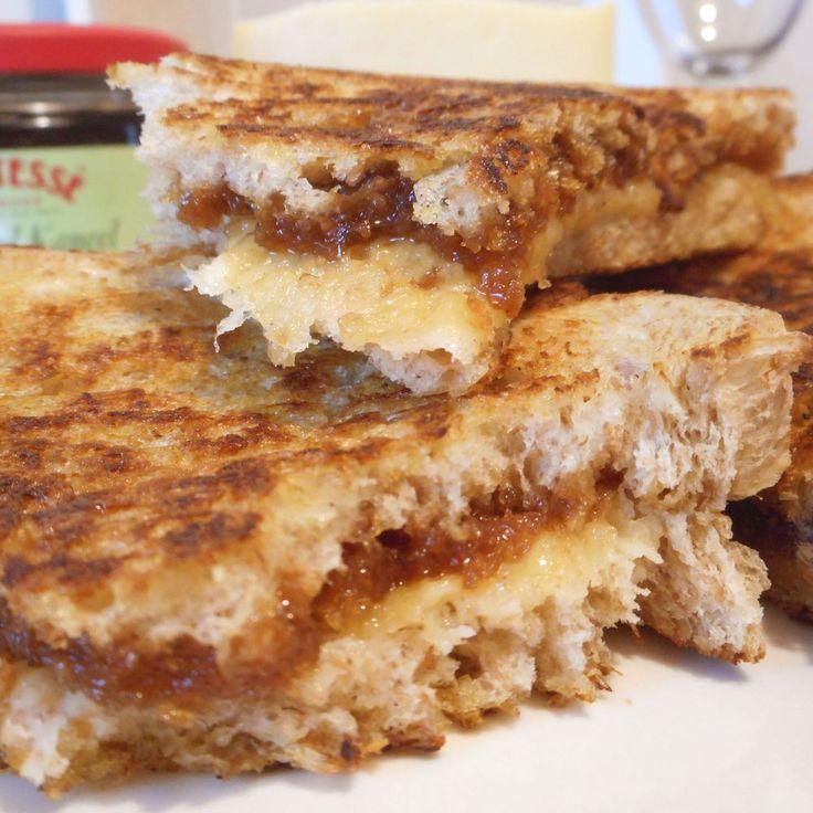 Tosti met kaas & appelstroop (veel lekkerder dan een gewone kaas tosti!) - Het keukentje van Syts