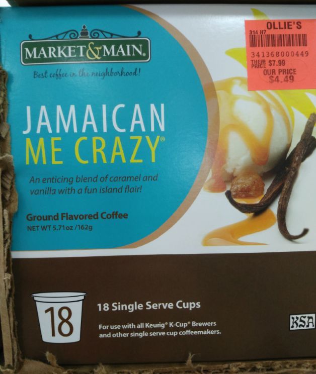 Market & Main Jamaican me Crazy Coffee