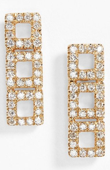 Women's Dana Rebecca Designs 'Allison Joy' Diamond Drop Earrings - Yellow Gold