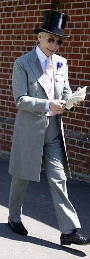 Mister Bespoke: Charlie Watts rocks Morning Dress.