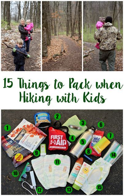 15 Must-Pack Items when Hiking with Kids - everything you need to include in your backpack! #skincareforbaby #huggies #ad