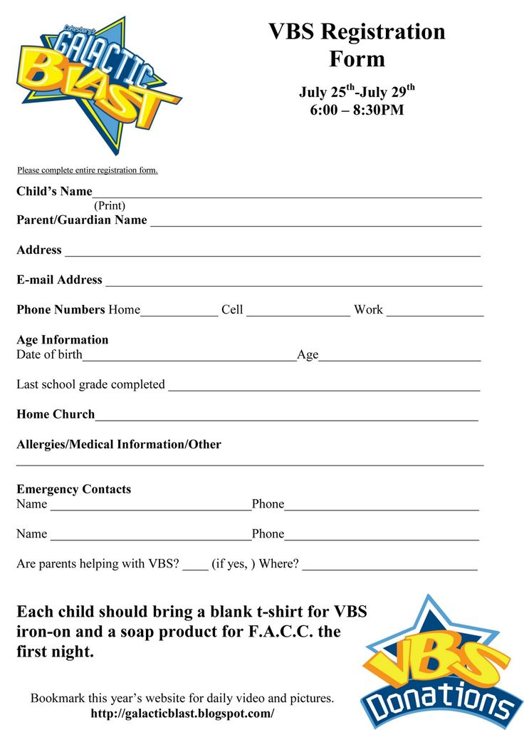 29 best Childrens Ministry Ideas images on Pinterest Vbs crafts - customer registration form template
